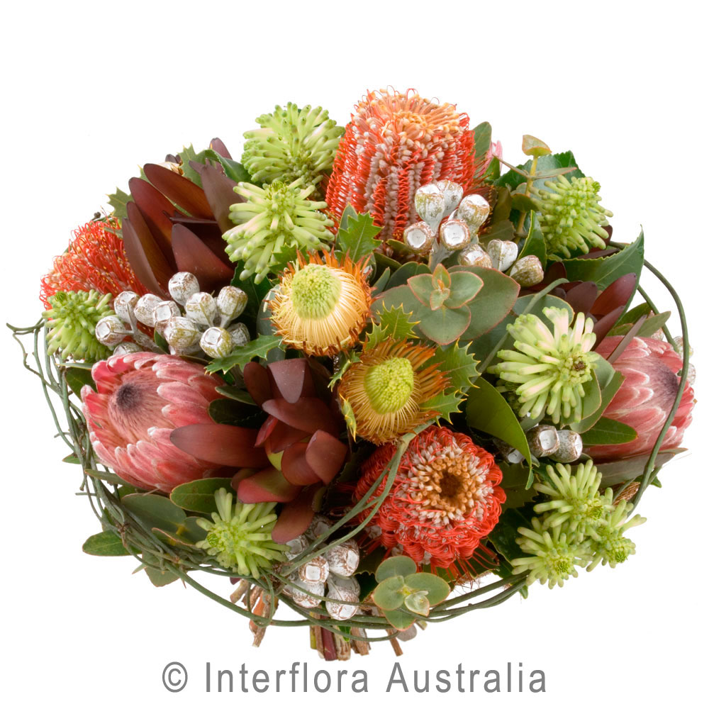 Large Native Flowers in a Bouquet | Myrtleford, Beechworth & Bright ...